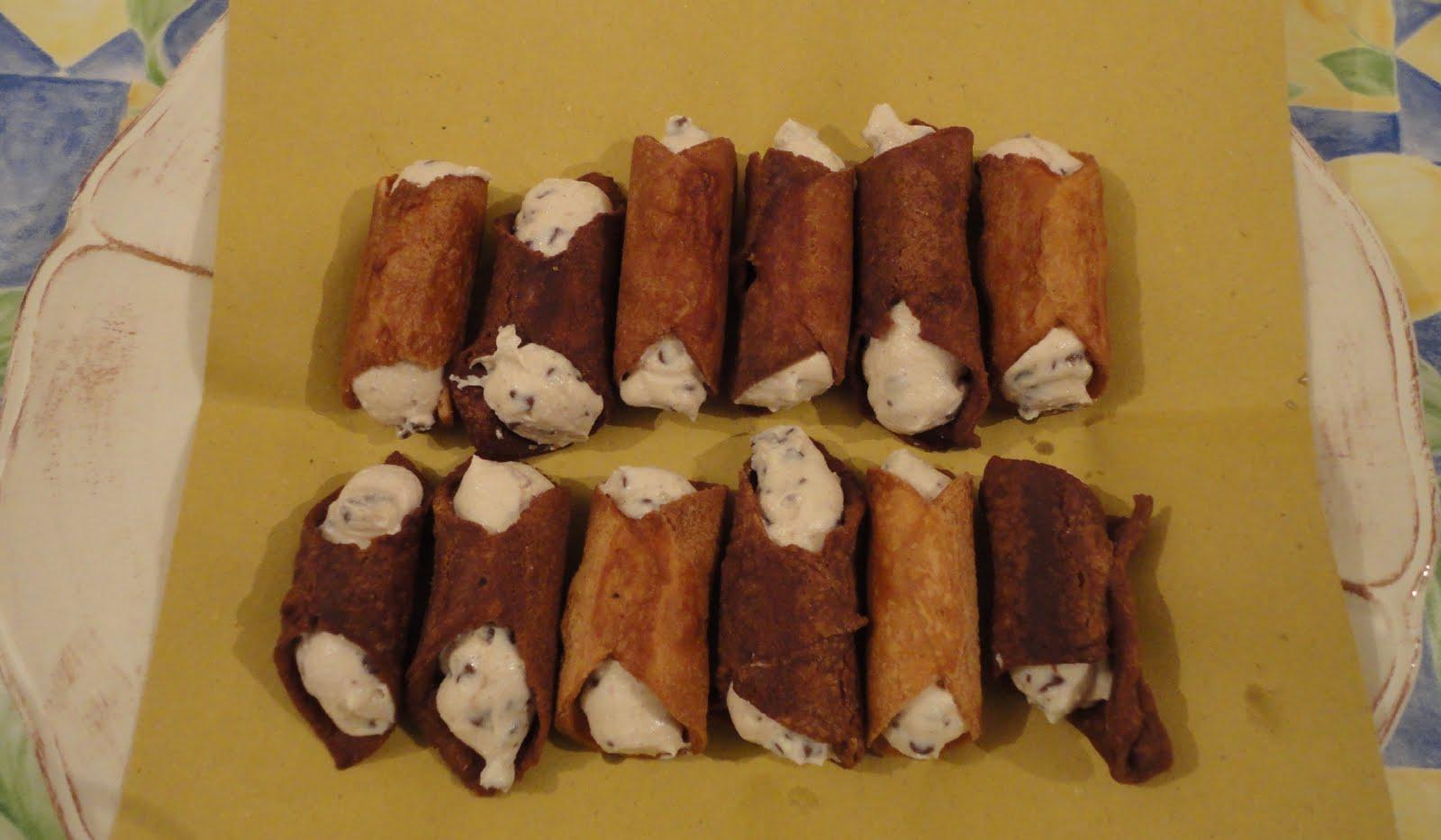 Cannoli Siciliani Senza Glutine