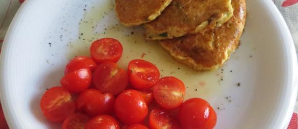 frittelle di farina di ceci senza glutine