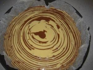 torta bicolore senza glutine