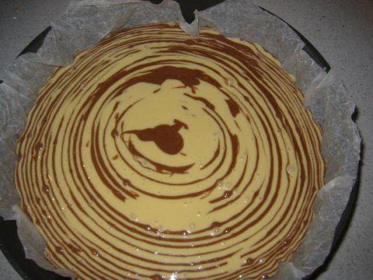 ricetta torta bicolore senza glutine
