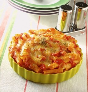 Tortiglioni pomodoro e Provola senza glutine