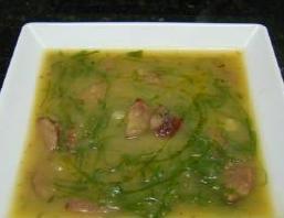 zuppa di cavolo nero senza glutine