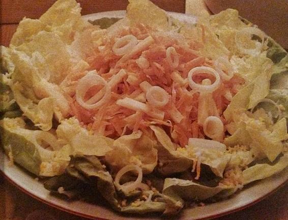 insalata alla panna senza glutine
