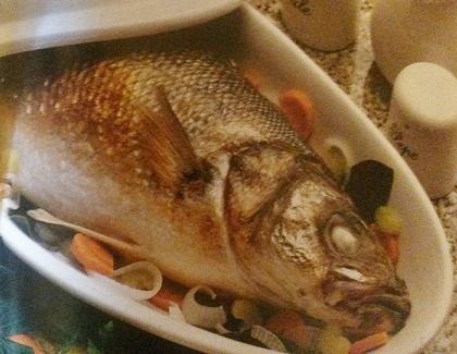spigola al forno senza glutine
