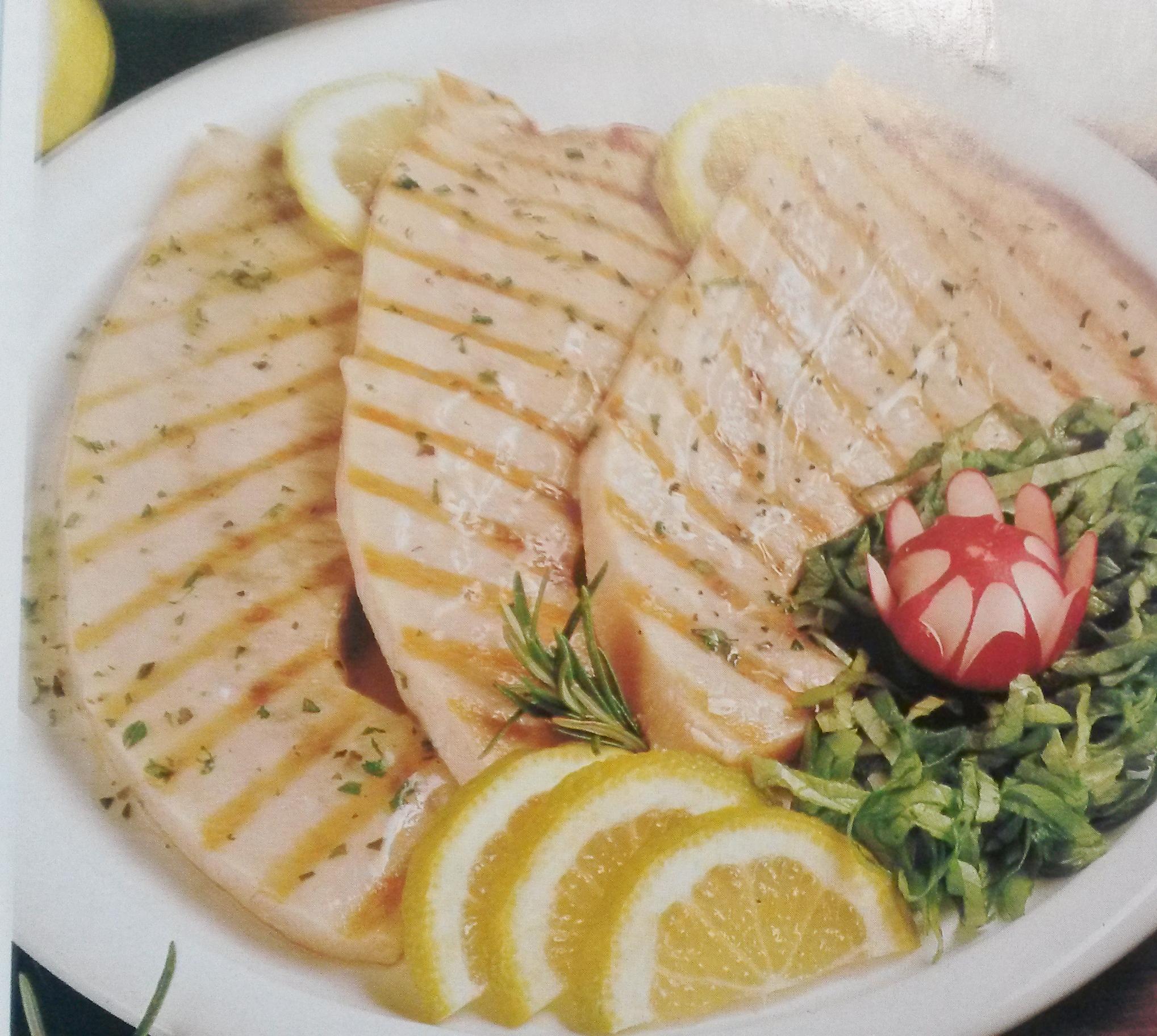 pesce spada al salmoriglio senza glutine