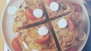 torta di frittate senza glutine