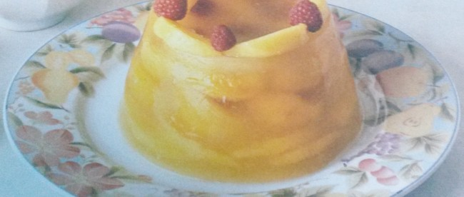 aspic di frutta senza glutine