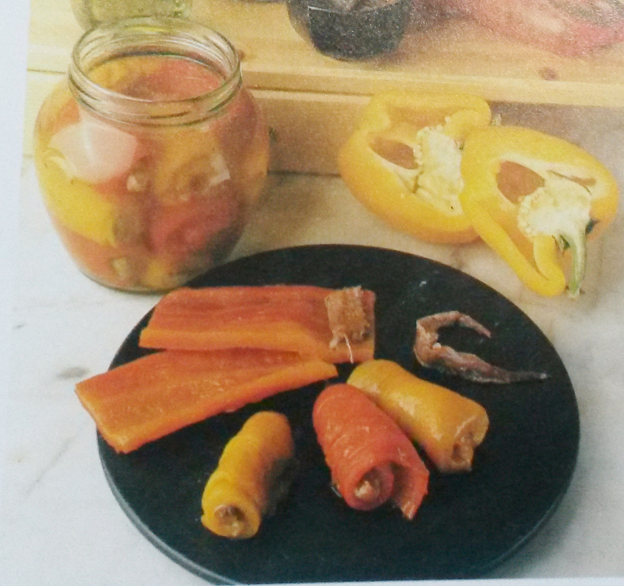 peperoni farciti senza glutine