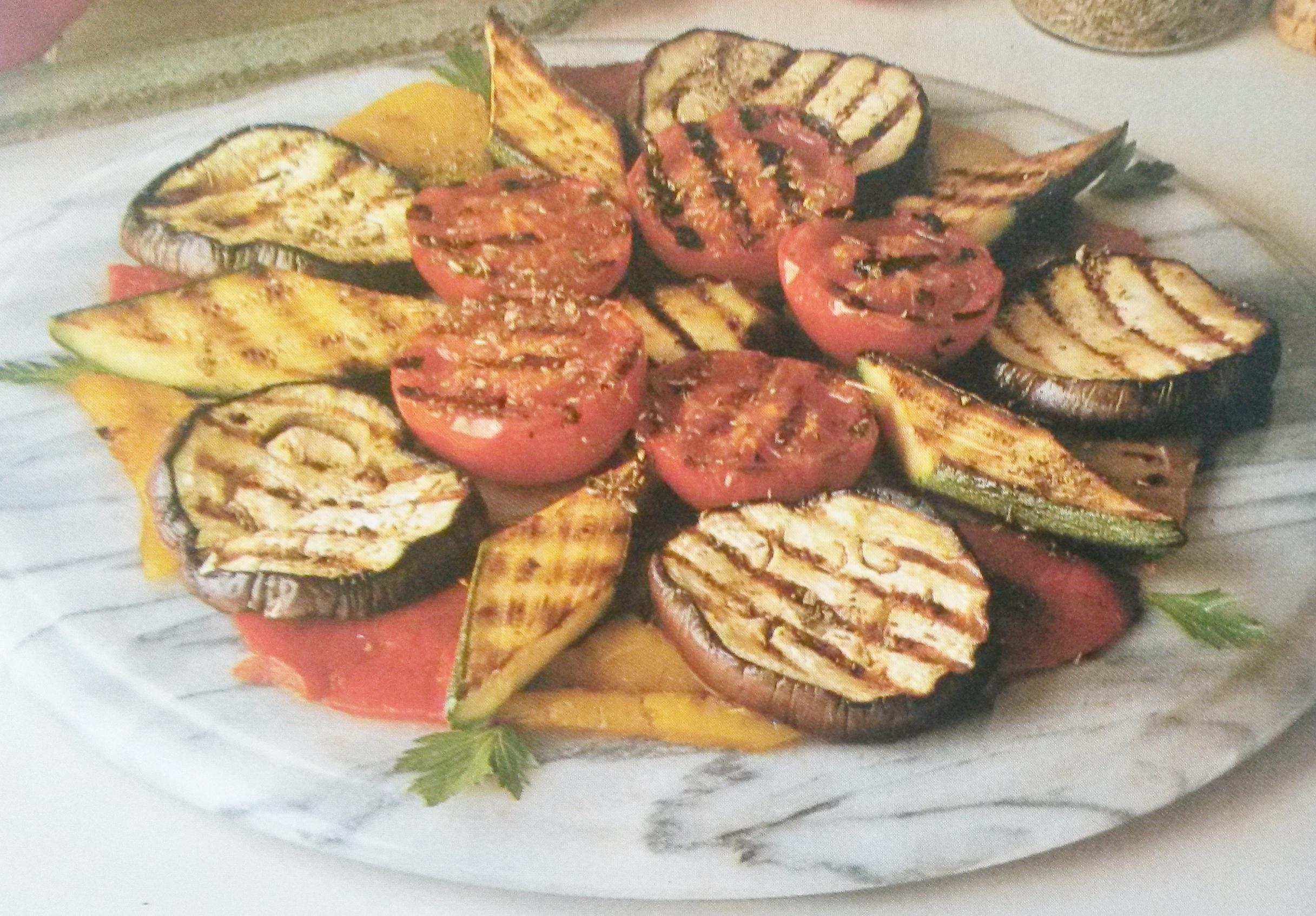 verdure alla griglia senza glutine