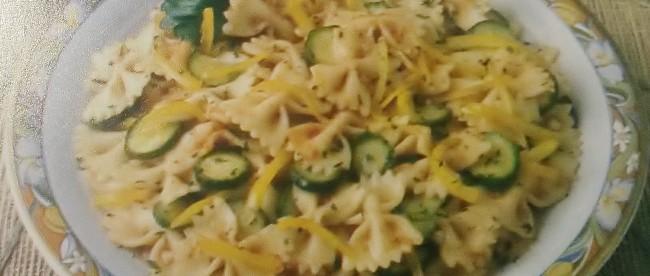 farfalle alle verdure senza glutine