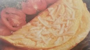 Omelette al formaggio gluten free