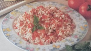 Riso pomodoro e basilico senza glutine