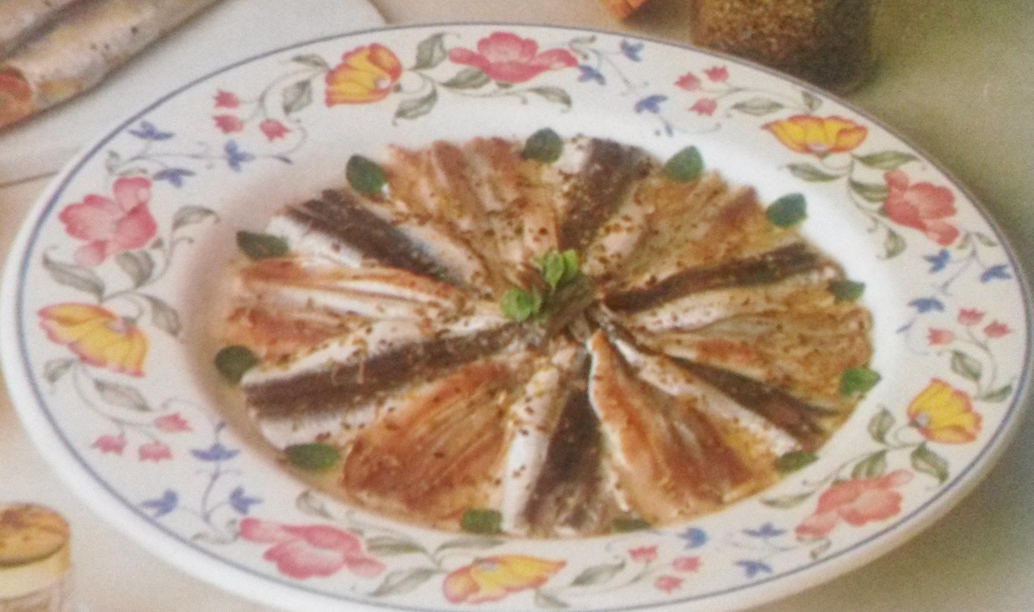 Acciughe all'ammiraglia gluten free