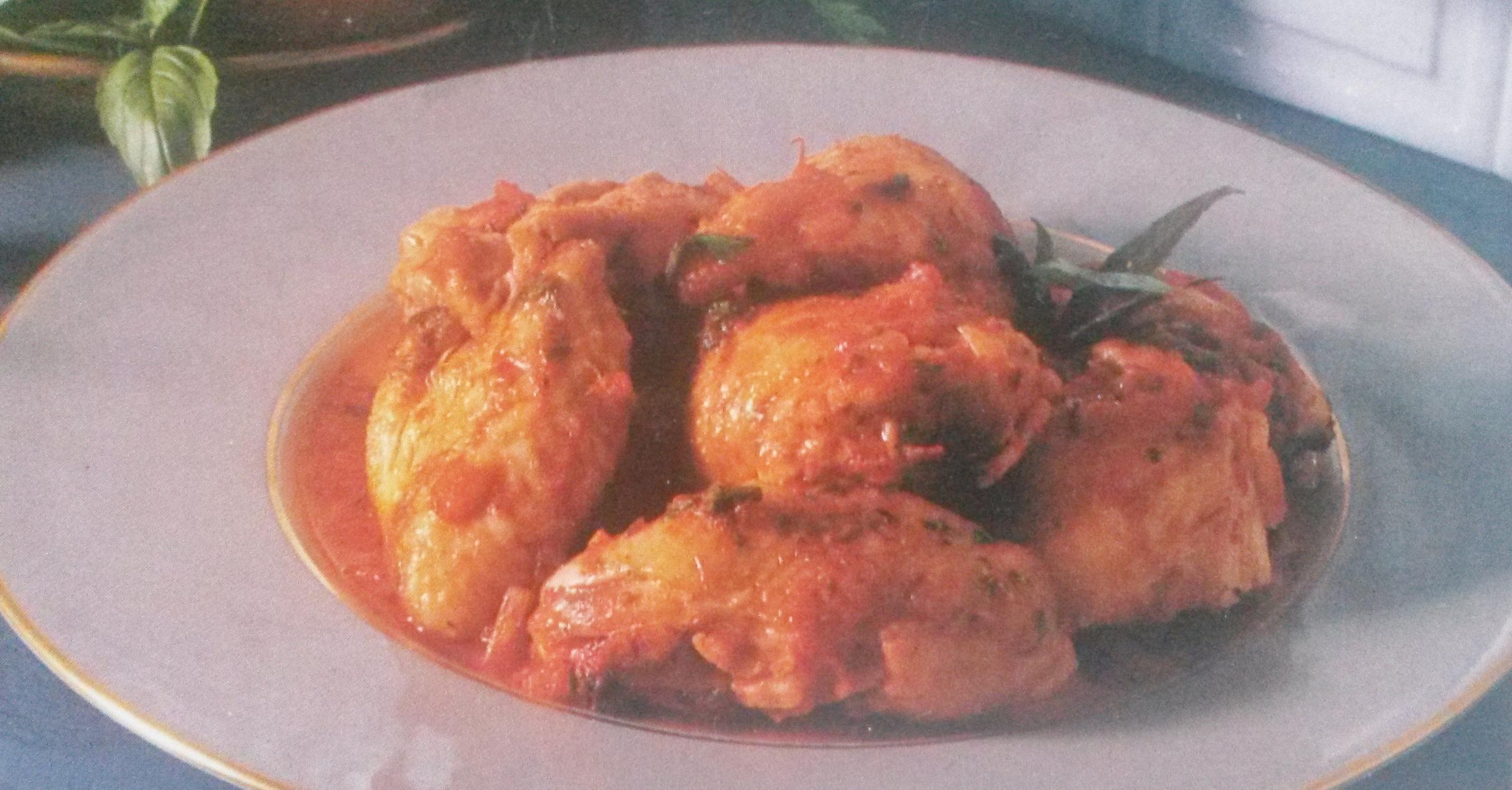 Pollo alla cacciatora gluten free