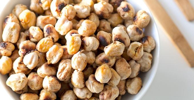 Crostini di ceci senza glutine