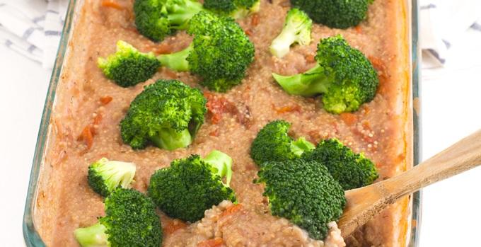 casseruola di quinoa senza glutine