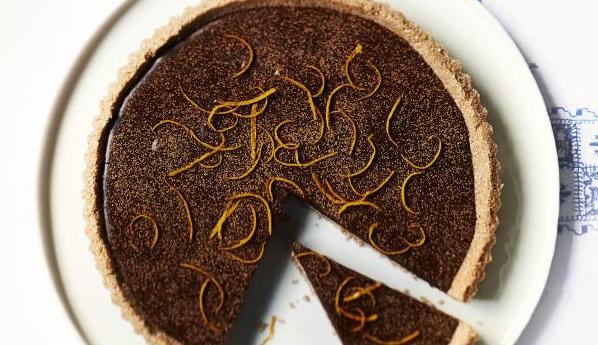 Torta al cioccolato e arance senza glutine