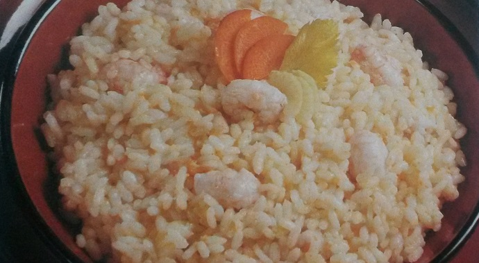 risotto con gli scampi senza glutine