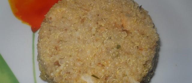 sformato di quinoa gluten free