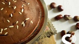 Castagnaccio senza glutine: ricetta