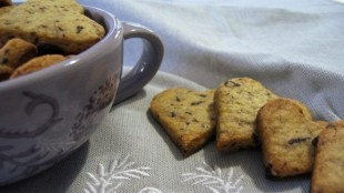 Biscotti alla lavanda senza glutine