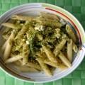 Pasta gluten free con pistacchi e zucchine