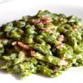 Spaeztle agli spinaci per celiaci