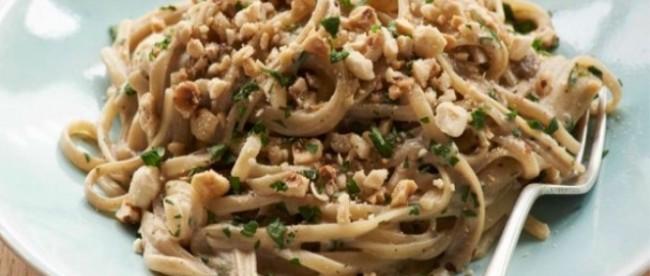 Pasta alle nocciole, mandorle e cannella senza glutine